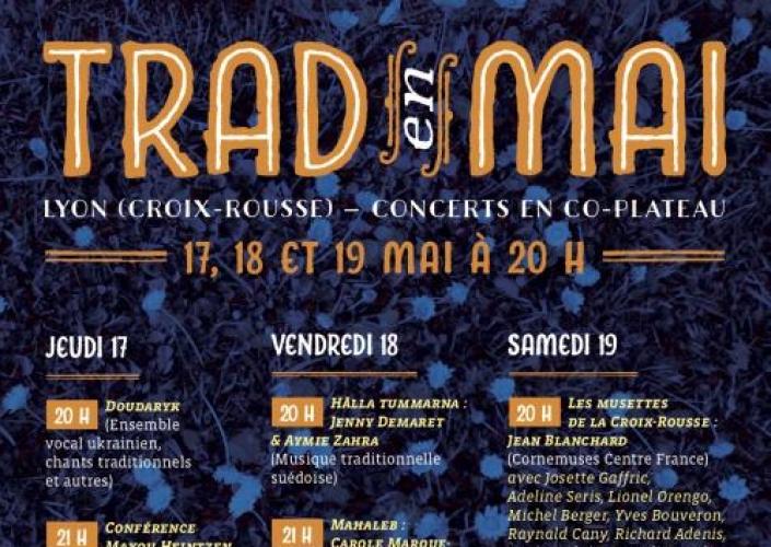 """17/05, Théâtre """"Sous le Caillou"""" – Choeur Doudaryk au festival """"Trad en Mai"""""""
