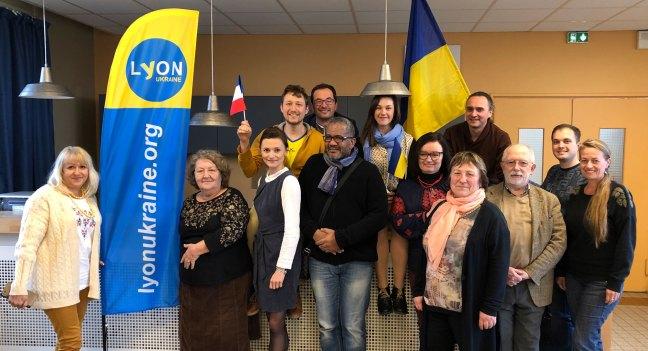 Membres de Lyon-Ukraine participant à l'AG2020