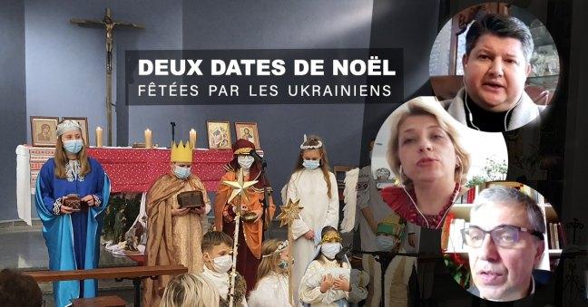Une crèche vivant ukrainienne dans une église de Strasbourg